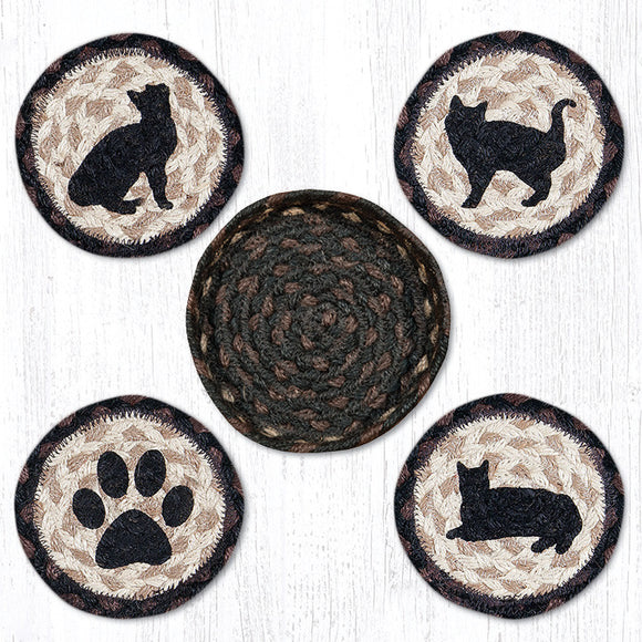 CNB-313 Porch Cat Coaster Set