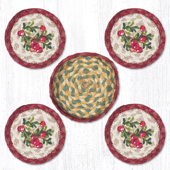 CNB-390 Cranberries Coaster Set