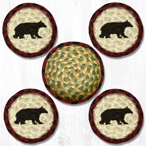 CNB-395 Cabin Bear Coaster Set