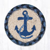 IC-443 Navy Anchor Individual Coaster