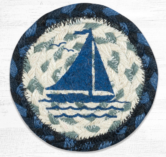 IC-443 Sailboat Coaster