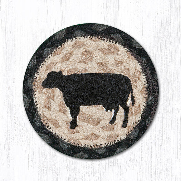 IC-459 Cow Silhouette Coaster
