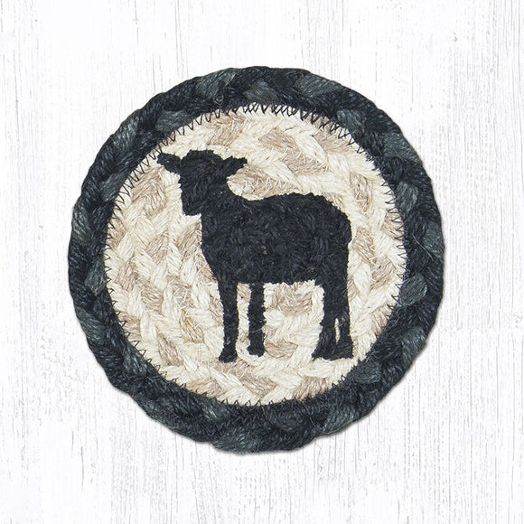 IC-459 Sheep Silhouette Coaster