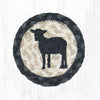 IC-459 Sheep Silhoutte Coaster