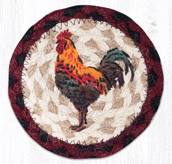IC-471 Rustic Rooster Coaster
