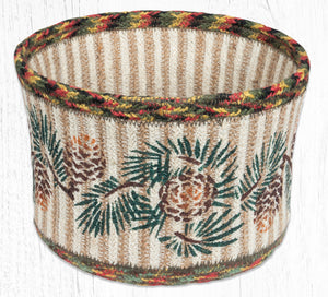 RNB-081 Pinecone Natural Rope Basket