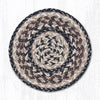 MS 9-93 Black + Tan Miniature Swatch