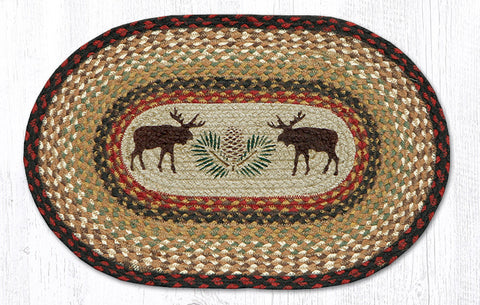 PM-OP-019 Moose/Pinecone Printed Placemat