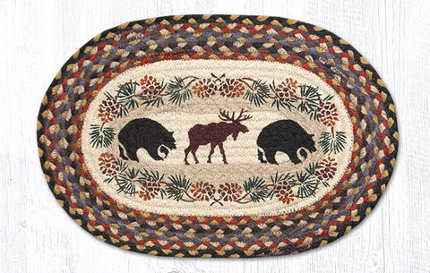 PM-OP-043 Bear/Moose Printed Placemat