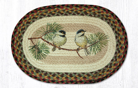 PM-OP-081 Chickadee Printed Placemat