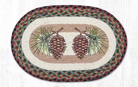 PM-OP-081 Pinecone Printed Placemat