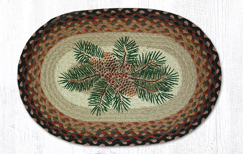 PM-OP-083 Pinecone Red Berry Printed Placemat