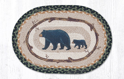 PM-OP-116 Mama and Baby Bear Printed Placemat