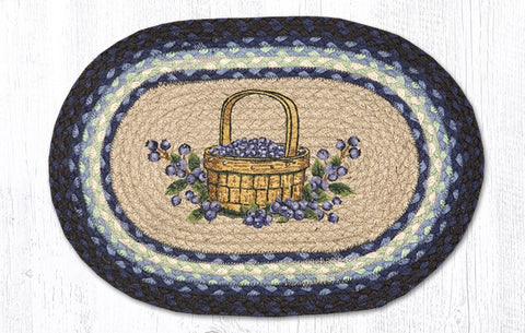 PM-OP-312 Blueberry Basket Printed Placemat