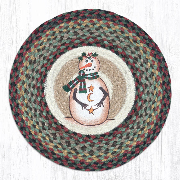 CH-081 Moon and Star Snowman Chair Pad