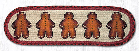 ST-OP-111 Gingerbread Men Printed Stair Tread