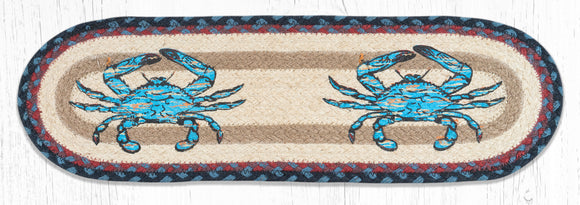 ST-OP-362 Fresh Blue Crab Stair Tread