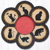 TNB-238 Cats Trivet in a Basket