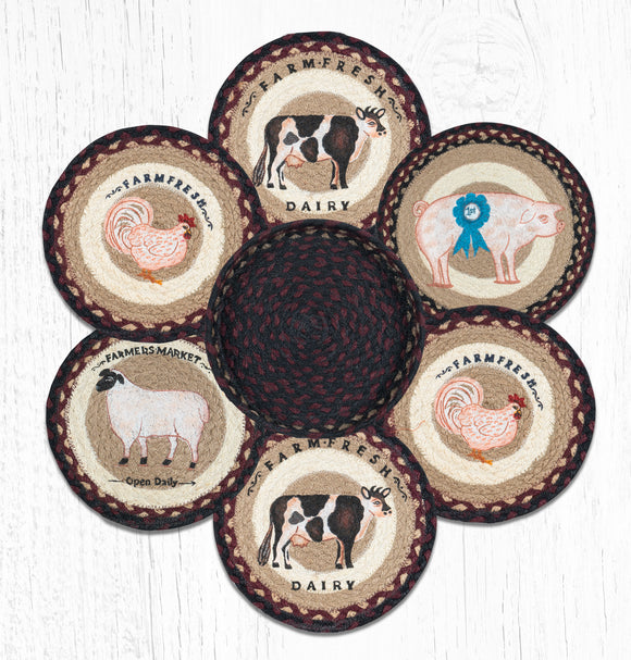 TNB-344 Farmhouse Trivet/Basket