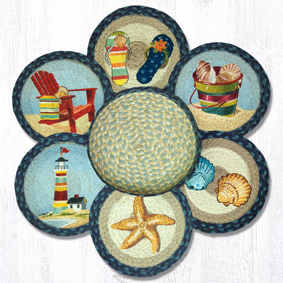 TNB-362 By The Sea Trivet/Basket
