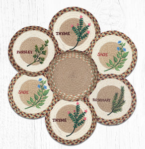 TNB-413 Herb Set Trivet/Basket