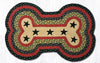 DBP-238 Black Stars Dog Bone Rug