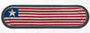 OP-1032 Original Flag Oval Patch Runner