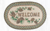 OP-051 Welcome Patch Oval Patch Rug