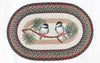 OP-081 Chickadee Oval Patch Rug