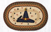 OP-222 Witch Hat Oval Patch Rug