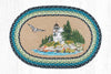 OP-311 Bass Harbor Oval Patch Rug