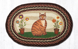 OP-344 Folk Art Cat