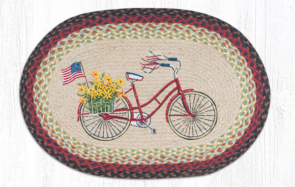 OP-574 Bicycle with Flag