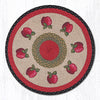 RP-238 Apple Round Patch Rug