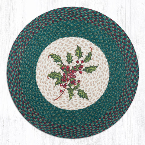 RP-508 Holly Round Patch Rug