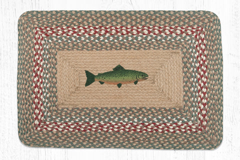 PP-009 Fish Print Patch Rug