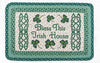 PP-116 Bless This Irish House Print Patch Rug