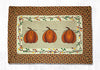 PP-222 Harvest Pumpkin Print Patch Rug