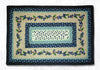 PP-312 Blueberry Vine Print Patch Rug