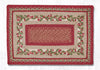 PP-390 Cranberries Print Patch Rug