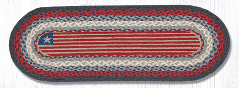 OP-015 Flag Oval Patch Runner