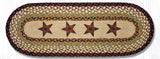 OP-019 Barn Stars Oval Patch Runner