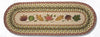 OP-024 Autumn Leaves Oval Patch Runner