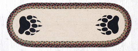 OP-081 Bear Paw Oval Patch Runner