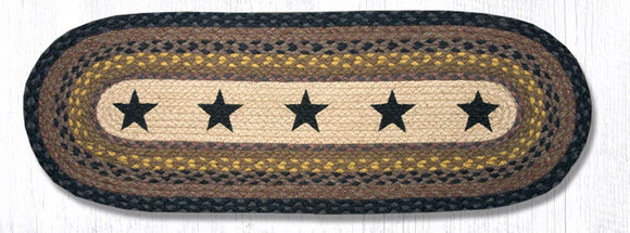 OP-099 Black Stars Oval Patch Runner