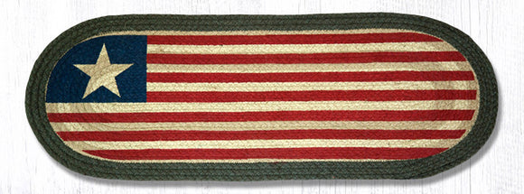 1032 Original Flag Oval Patch Runner