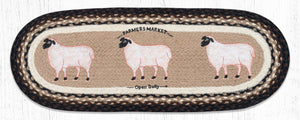 OP-344 Farmhouse Sheep Table Runner