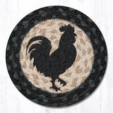 IC-459 Rooster Silhouette Coaster