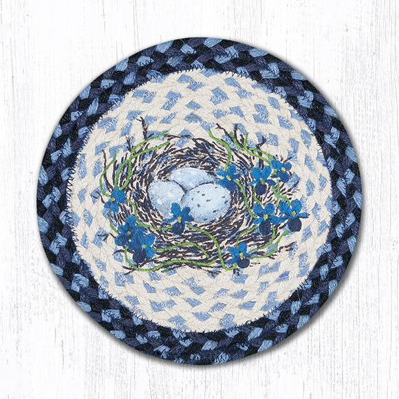 MSPR-541 Blue Birds Nest Trivet