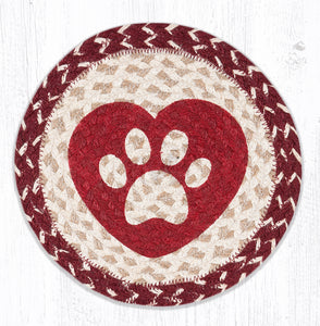 MSPR-9-117 Heart Paw Swatch